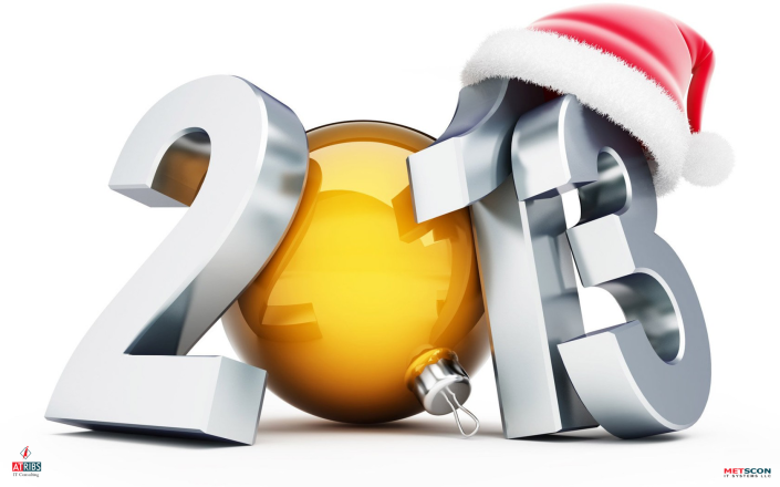 ATRIBS & METSCON are Wishing you all a very HAPPY NEW YEAR 2013