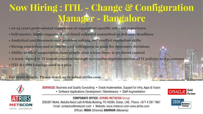 ITIL- Config