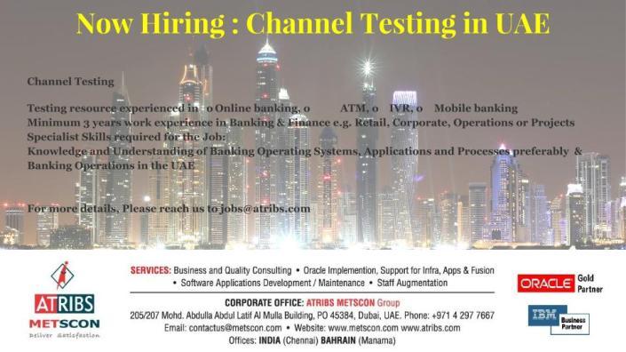 Channel Testing