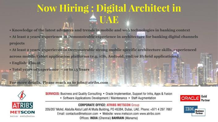 Digital Architect in UAE