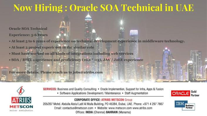 Oracle SOA Technical