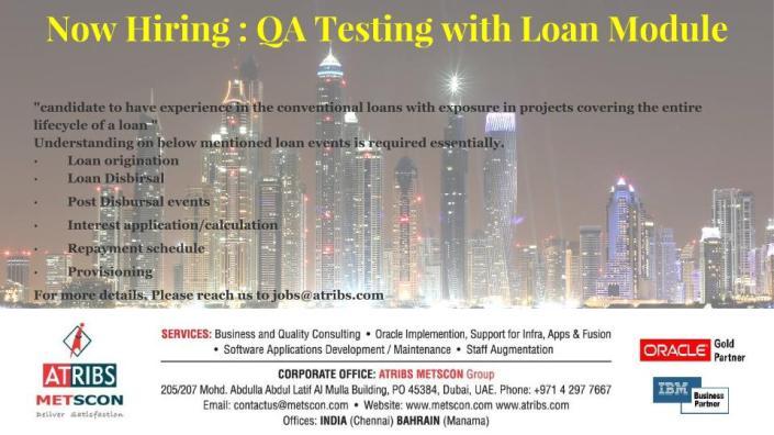QA Testing