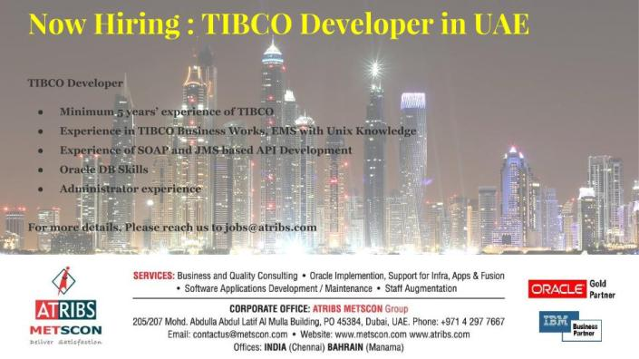 TIBCO Developer