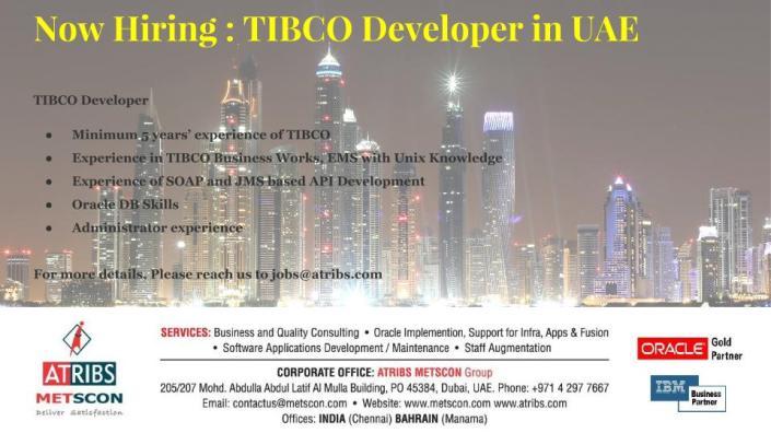 TIBCO Developer