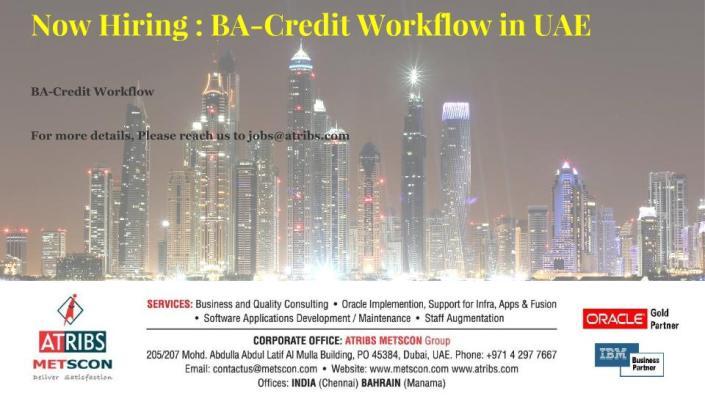 BA-Credit Workflow
