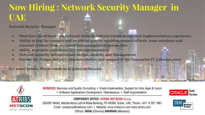 Network Security Manager