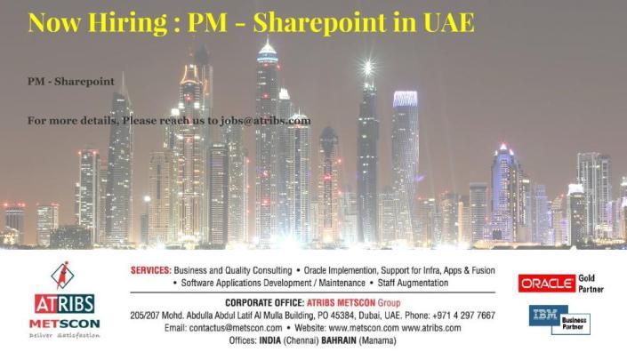 PM - Sharepoint