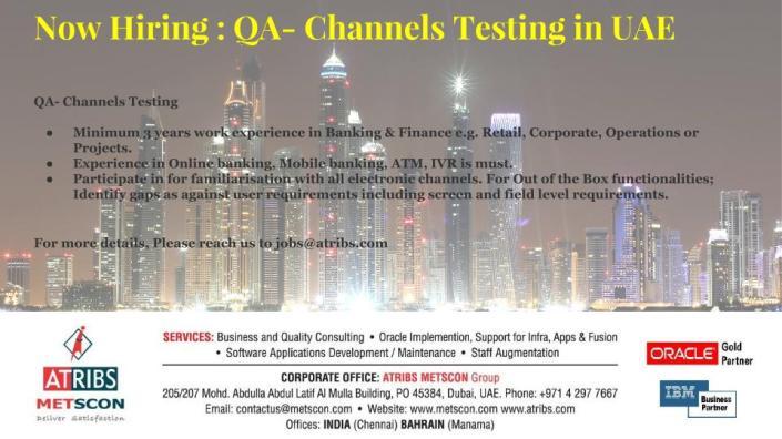 QA- Channels Testing