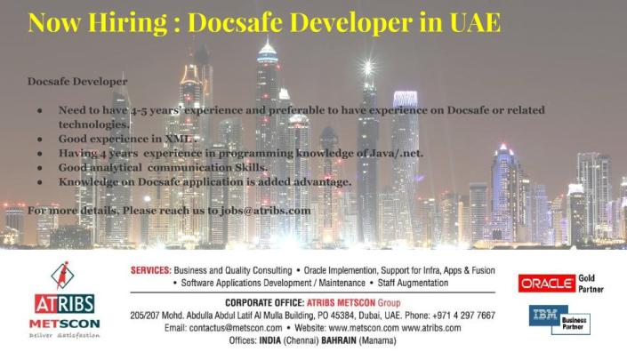 Docsafe Developer