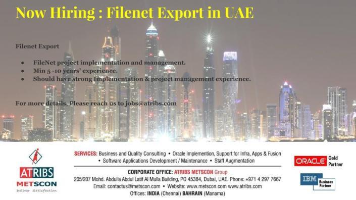Filenet Export