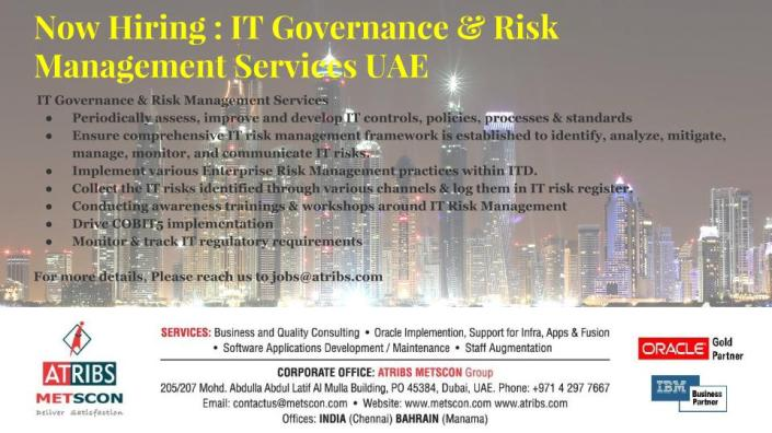 IT Governance & Risk Management Services