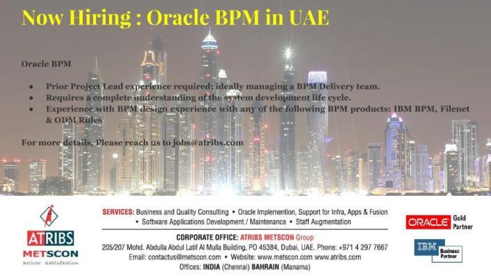 Oracle BPM