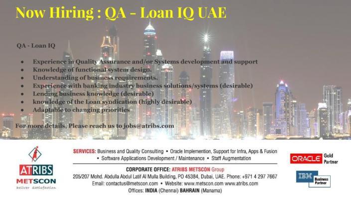 QA - Loan IQ