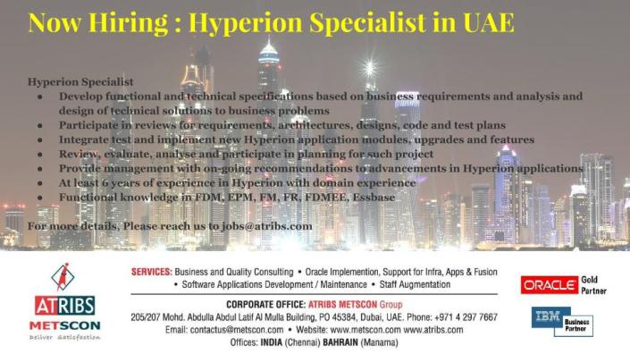 Hyperion Specialist