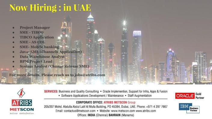 Now Hiring - in UAE