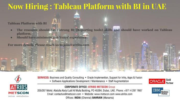 Tableau Platform with BI