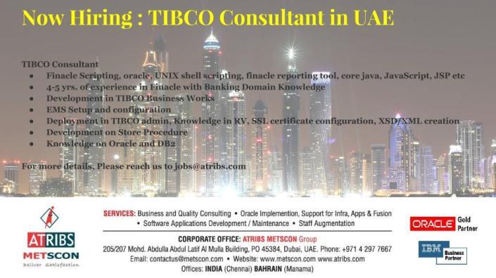 TIBCO Consultant
