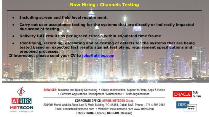 Channels Testing