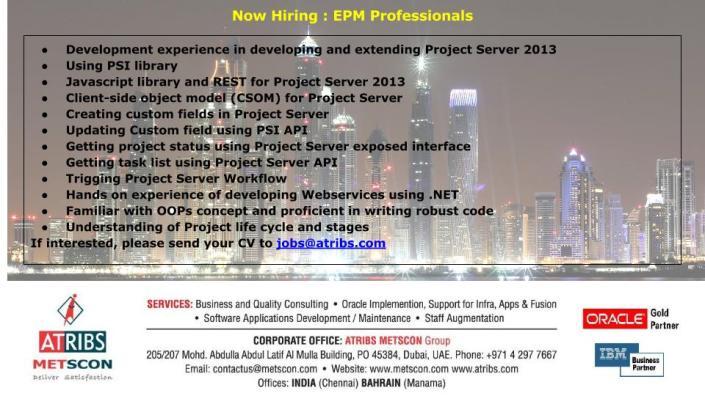 EPM Developer