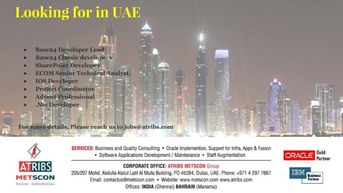 Looking for in UAE