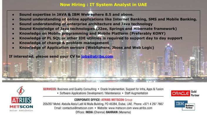IT System Analyst