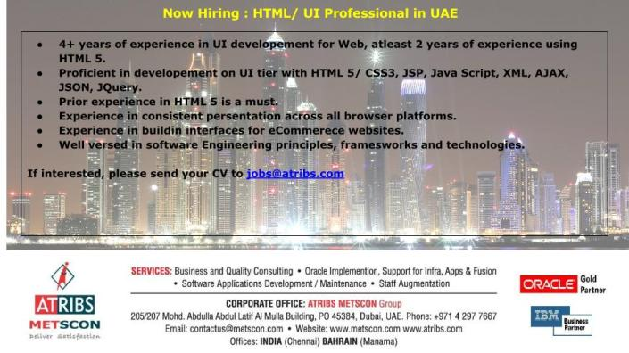 html-professional-in-uae