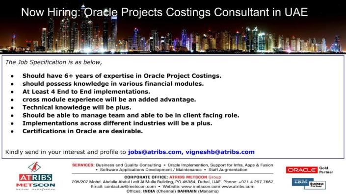 oracle-projects-costings